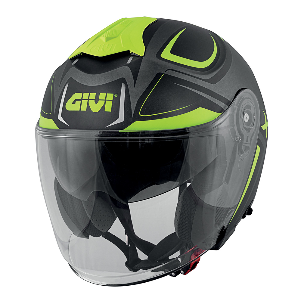 Givi - HYTY Matt titanium / black / yellow