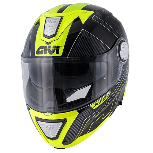 Givi - PCBY Nero / titanio / giallo