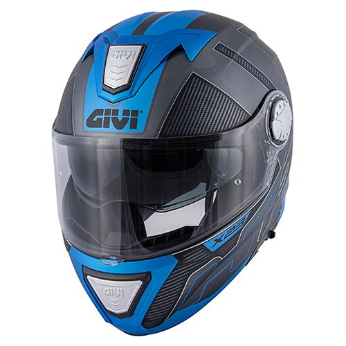Givi - PCTB Titanio opaco / nero / blu