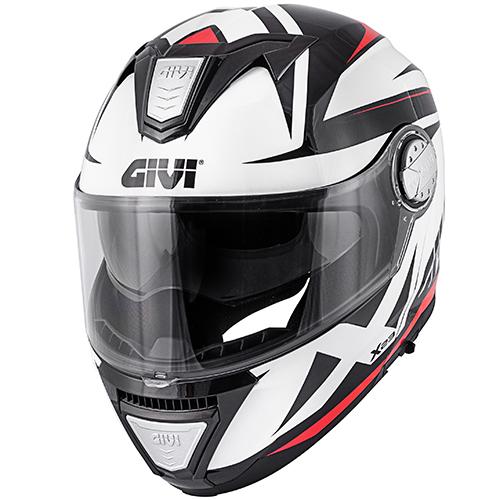 Givi - PTBK schwarz / weiß / rot