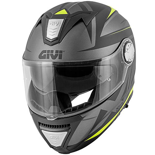 Givi - PTBT matt schwarz / titanium / gelb