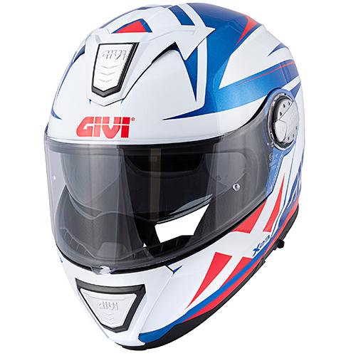 Givi - PTBW Blu metallizzato / bianco / rosso