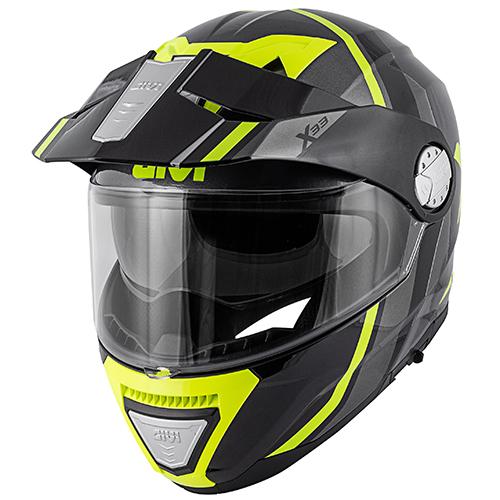 Givi - DVTY Titanium / gelb
