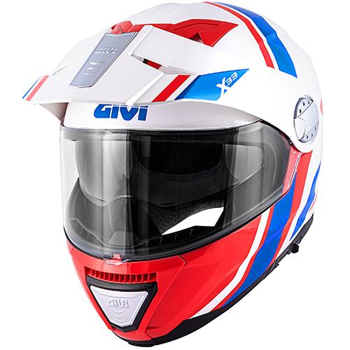 Givi - DVWR Blanco / rojo/ azul