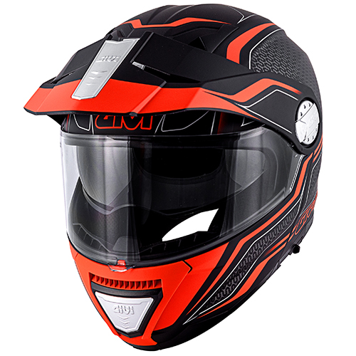 Givi - LYBE matt schwarz / orange