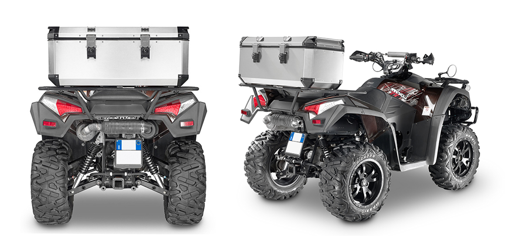Givi - Fixed System - TREKKER OUTBACK QUAD 110 litres