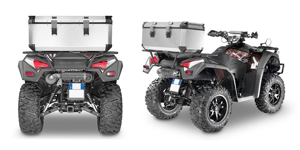 Givi - Fixed Topcase - TREKKER OUTBACK ATV 110 Liter Volumen