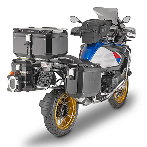Givi - Bauletti Moto con Aggancio MONOKEY® - TREKKER OUTBACK 58 BLACK LINE