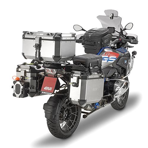 Givi - Valigie laterali per moto fuoristrada MONOKEY® CAM-SIDE - TREKKER OUTBACK 48