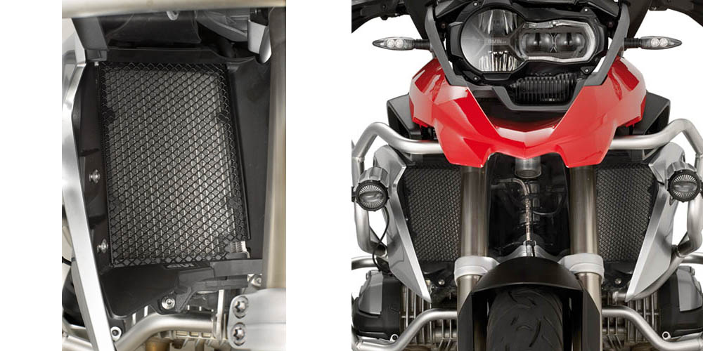 Givi - Mechanical Part Protection for Motorcycles - Radiator guard