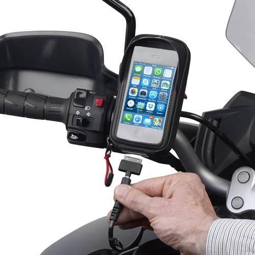Givi - Porte GPS/smartphone et dispositifs d\'alimentation - S112 Power Connection