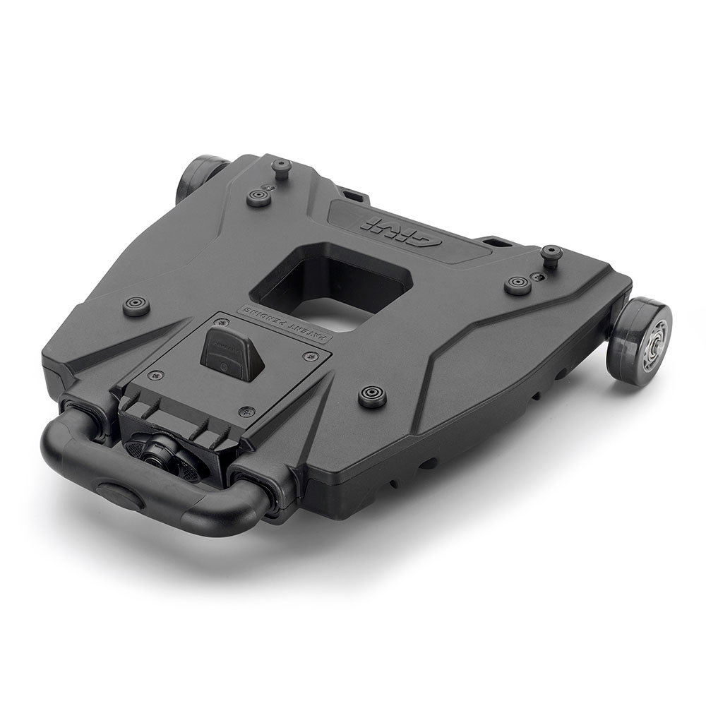 Givi - Universal Trolley Base for MONOKEY® top-cases. To be combined with a MONOKEY® fitting plate. Security Lock system