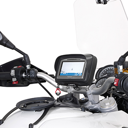 Givi - Porte GPS/smartphone et dispositifs d\'alimentation - S901A Smart Mount