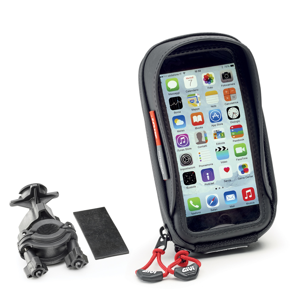 Givi - Universal Smartphone holder. Compatible with scooter, bike and bicycle.