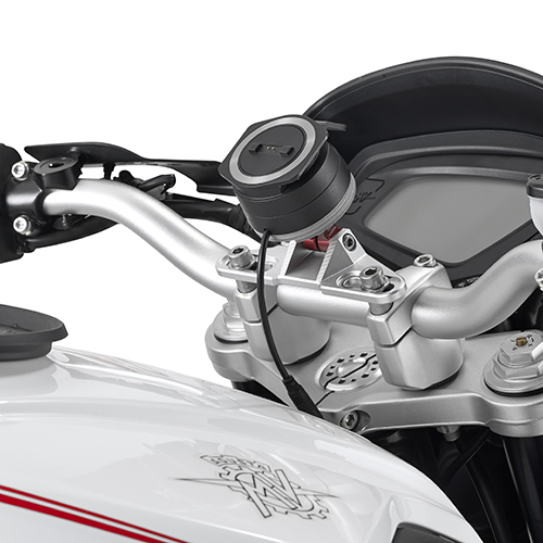 Givi - Aluminium support to install GPS Tom Tom Rider (40, 400, 410, 450, II, 500, 550) on S901A Smart Mount and S902A