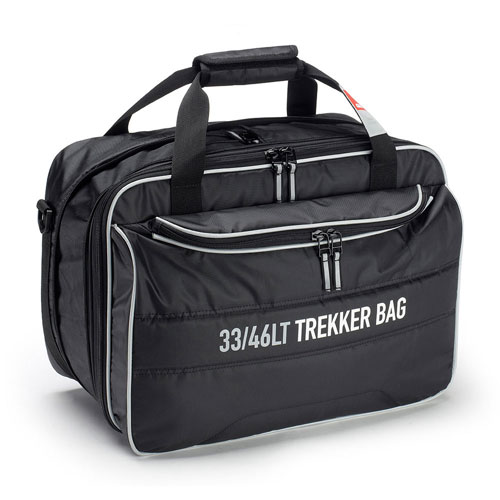 Givi - Inner bag for Trekker cases TRK33 and TRK46, expanded it can be used in the TRK46 case, unexpanded the bag is adaptable to the TRK33 case.