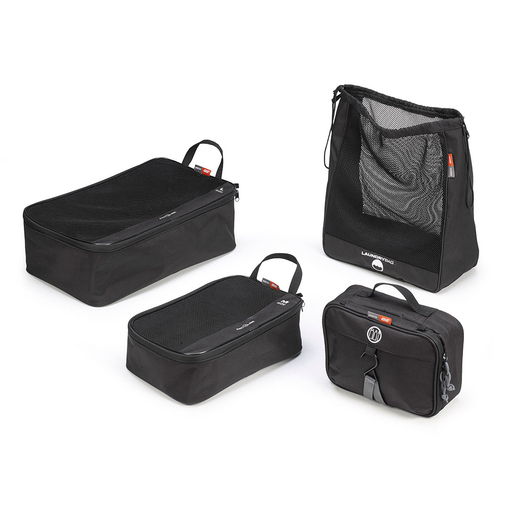 Givi - Travel set composto da 4 componenti
