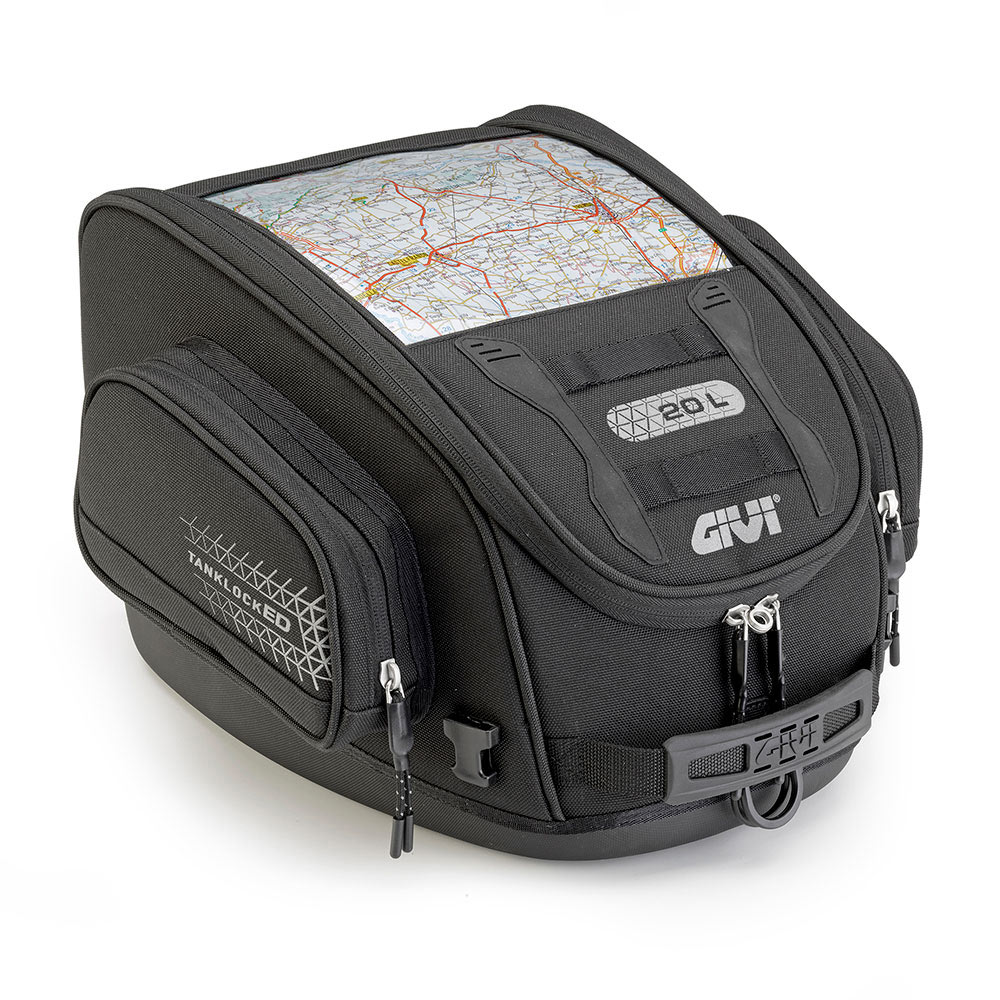 Givi - Soft Bags for Motorcycle Touring - Ultima-T Line - UT809 TANKLOCKED