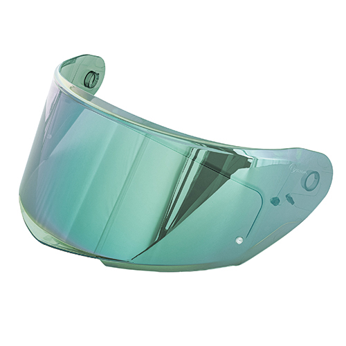 Givi - Visiera a specchio verde antigraffio con predisposizione lente Pinlock® 70 DKS263