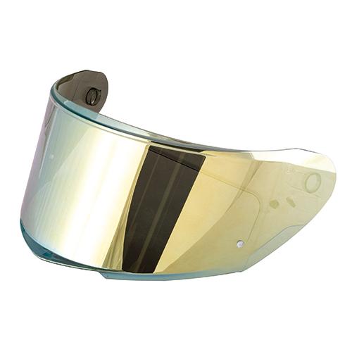 Givi - Visiera a specchio gialla antigraffio con predisposizione lente Pinlock® 70 DKS263