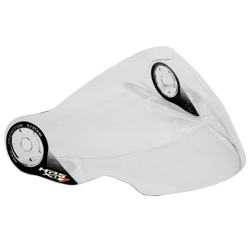 Givi - Transparent anti-scratch long visor